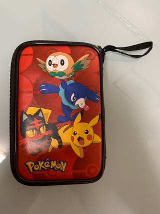 Funda nintendo 3DS XL Pokemon+ Lapiz Pikachu