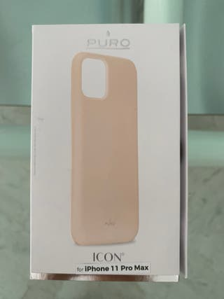 Funda para iPhone 11 Pro con Silicona Rosa de Pur