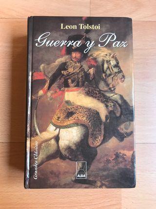 Libro Guerra y Paz - Lev Tolstoi