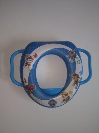 Adaptador infantil water wc patrulla canina