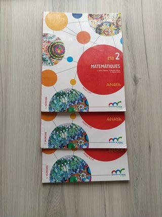 libros de matemáticas de 2 E.S.O