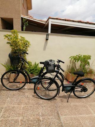 bicicletas 140€ y 270€