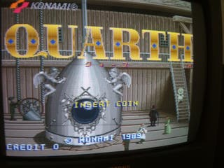 Placa jamma Quarth original Konami
