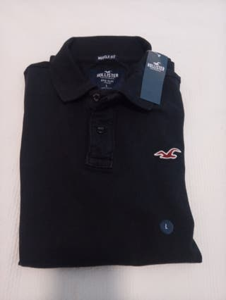 Polo Hollister muscle fit nuevo