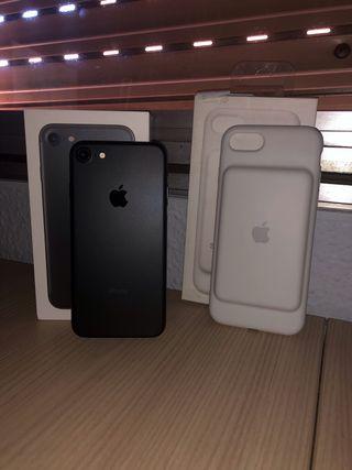 iPhone 7 (32GB) Negro + Smart Battery Case