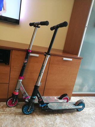 ¡¡Oportunidad!! Patinetes scooter marca Oxelo.