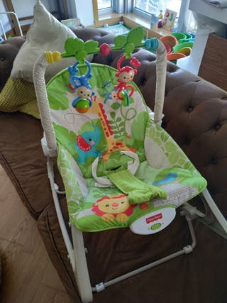 Hamaca Fisher Price monitos