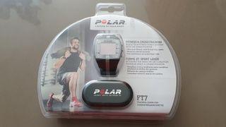 Polar FT7 negro-plata con pulsometro