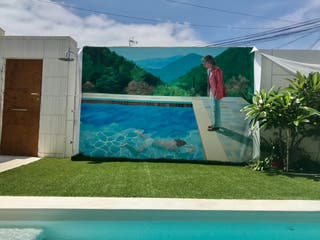 Cuadro mural lona exterior e interior
