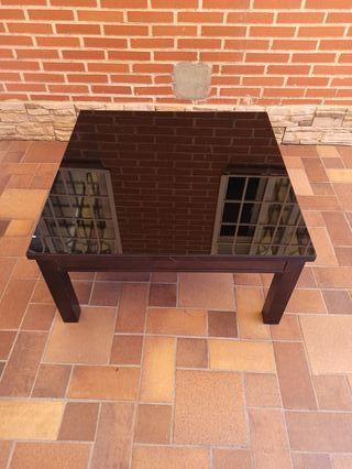 Mesa de centro elevable cuadrada