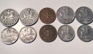 Lote de monedas España