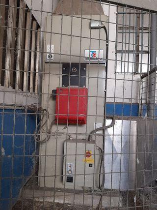 Caldera de gasoil diesel