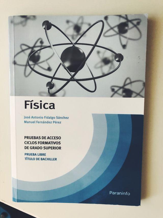 Libro F U00cdsica  Nuevo  Acceso Grado Superior De Segunda Mano