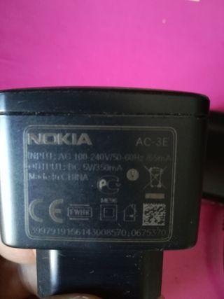 Cargador móvil y routers y auriculares