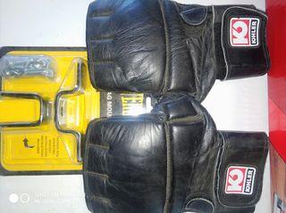 Saco de boxeo, guantes y anclaje!