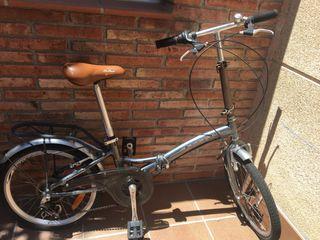 Bicicleta plegable UrbanLife poco uso
