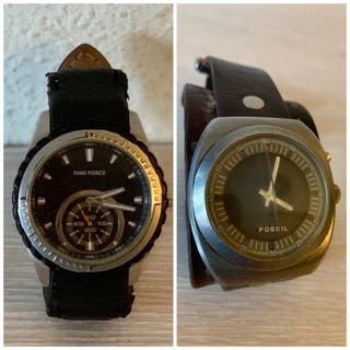 Reloj fossil + reloj time force originales