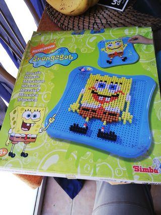 mosaico de Bob esponja