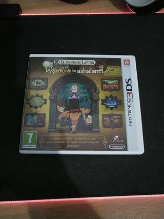 Caja El profesor Layton y el legado... 3DS