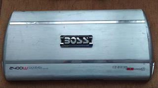 Amplificador 2400W Etapa de Potencia BOSS Estéreo