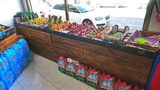 estanterías de frutería supermercados