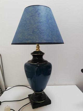 Lámpara pie ceramica