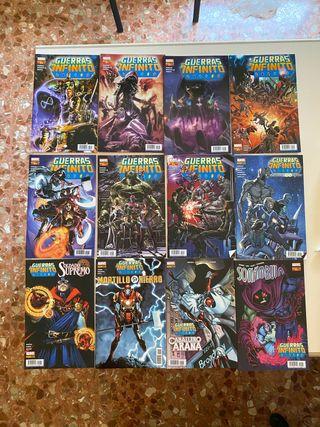 """Colección """"Guerras del infinito"""" Marvel"""