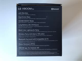 Altavoz Bluetooth LG XBOOM Go PL5 NUEVO