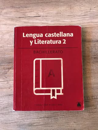 Libro Lengua castellana 2 Batx