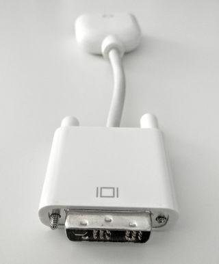 Cable adaptador DVI macho a VGA hembra de Apple