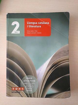 Libro de llengua catalana i literatura
