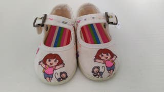 Zapatillas Dora talla 20