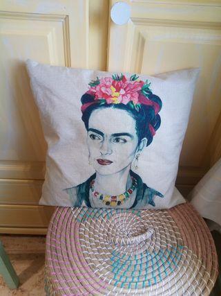 Funda Cojin Frida Kahlo Nuevo