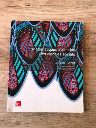 Libro matemáticas 2n Batx