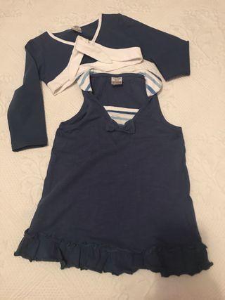 Vestido 3-4 años