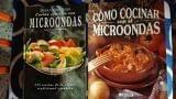 Dos libros cocina microondas