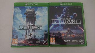 Star Wars Battlefront I y II xbox one