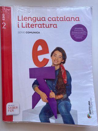 Libro 2 ESO Llengua catalana i literatura