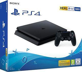 PS4 slim 500gb+2 mandos+ juegos