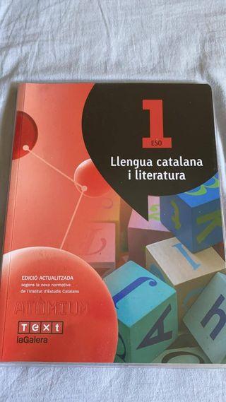 llengua catalana i literatura. primero de la eso.