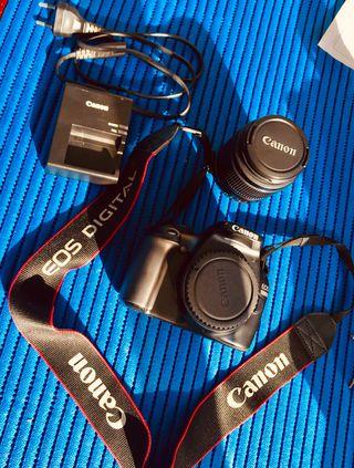 Cámara de fotos Canon EOS 1100D