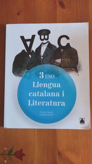 Libro Llengua Catalana i Literatura 3ro ESO