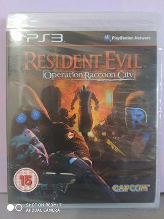 Resident Evil O.R.C NUEVO Ps3