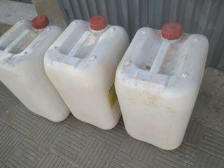 garrafas de 30 litros para cloro gasolina diesel