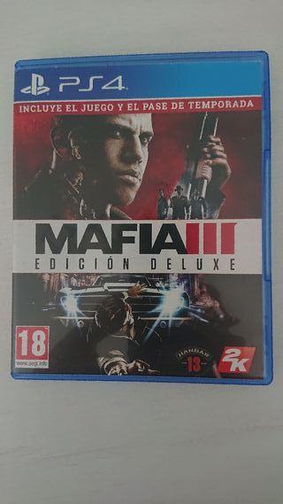 Mafia III MGS V FFXV PS4
