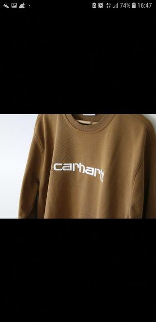 Sudadera Carhartt marrón Talla L