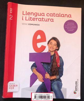 Libro de texto lengua catalana y literatura 2° ESO
