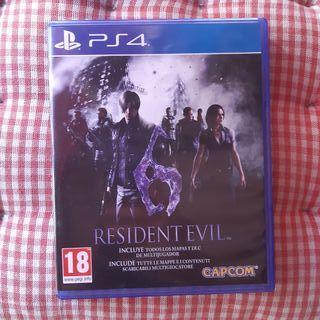 Videojuego Resident Evil 6 PlayStation 4