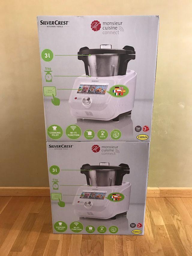 Silvercrest Robot de cocina Monsieur Cuisine | Lid de ...