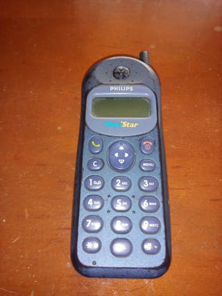 telefono móvil philips antiguo